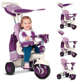 Triciclo 5 en 1 Splash Smart Trike Violeta