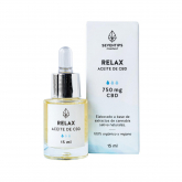 Óleo de cânhamo CBD 750 mg - Relax Smooth 15 ml
