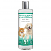 Enxaguante bucal cães e gatos Menforsan 310 ml