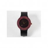 Reloj madera Purple Heart Seqoya