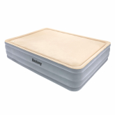 Cama de Aire Flocada de Doble Superficie Foam Extra Confort Bestway
