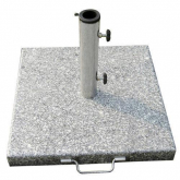 Base Sombrilla Granito 35 kg / 450x450 mm