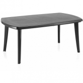 Mesa de Exterior Extensible Atlantic Antracita 170+55cm