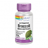 Activated Broccoli Seed Estract 350mg Solaray 30 cápsulas