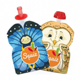 Set de 2 bolsas de alimentación Squiz 90 ml  + 1 boquilla SQUIZ'TOP