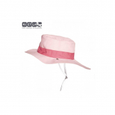 Gorro reversible 100% protección anti UV color rosa