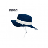 Gorro reversible 100% protección anti UV color azul marino