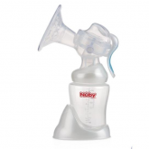 Extractor de leche manual con base y recipiente de 240 ml Nuby