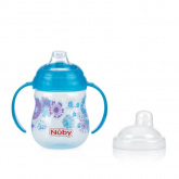 Taza antigoteo estampado 270ml 6m+ Nuby