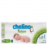 Pañales T1 1-3 kg Chelino Nature 28 unidades