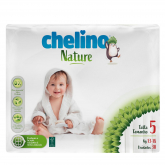 Pañales T5 13-18 kg Chelino Nature 30 unidades