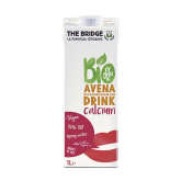 Bebida de avena calcio Bio The Bridge 1 l