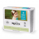 Pañales Moltex Pure & Nature T5 (13-18 kg) 44 uds