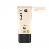 Base Fluída Mineral Mate 01 Warm Linen Sante 30 ml