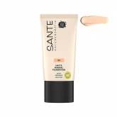Base Fluída Mineral Mate 03 Neutral Beige Sante 30 ml