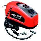 Inchador / compressor multiuso  Black & Decker ASI300 11 bar