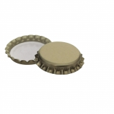 Placas douradas 29 mm, 100 pcs