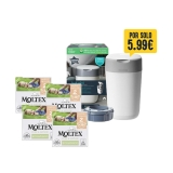 Pack 3X2 Pañales Moltex Pure & Nature T2 (3-6 kg) 108 uds