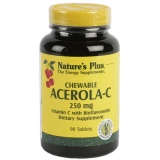 Acerola C 250 mg Nature's Plus, 90 comprimidos
