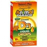Animal Parade Vitamina D3 gotas Nature's Plus, 10 ml