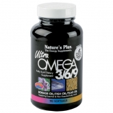 ULTRA OMEGA 3/6/9. Nature's Plus 90 perloas