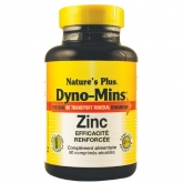 Dyno-Mins Zinc 15 mg Nature's Plus, 60 comprimidos