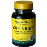 Soft Night Nature's Plus, 30 comprimidos