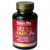 Ultra Hair Plus con MSM Nature's Plus, 60 comprimidos