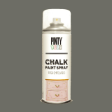 Pintura a la tiza / Chalk paint en Spray - Gris Ceniza, 400 ml