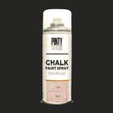 Pintura a la tiza / Chalk paint en Spray - Negro Plomo, 400 ml
