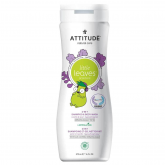 Gel y champú Little Leaves eco para niños Attitude 473 ml