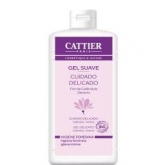 Gel suave higiene íntima Cattier, 200ml