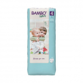 Pañal Bambo maxi T4, 7-14Kg 48 uds
