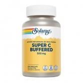 Super Bio C Buffered  Solaray, 100 cápsulas