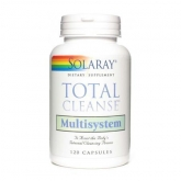 Total Cleanse Multisystem Solaray, 120 cápsulas