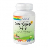 Super Omega 3-7-9 Solaray, 120 perlas