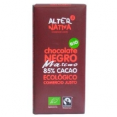 Chocolate negro ao 85% Alternativa, 80 g