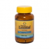 L-Carnitina 450 mg, Nature Essential, 100 cápsulas