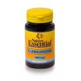 L-Arginina 500 mg Nature Essential, 50 cápsulas