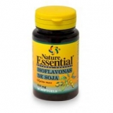 Isoflavonas de soja 610 mg Nature Essential, 50 perlas