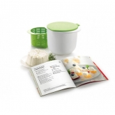 Kit cheese maker recipiente más recetario en español Lékué