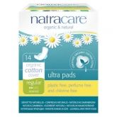 Compresa regular con alas bio Natracare 14 uds