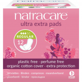Compresa ultra extra normal con alas bio Natracare 12 uds