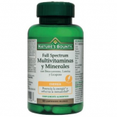 Full Spectrum multi vitaminas e minerais Nature's Bounty, 60 comprimidos