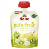 Smoothie BIO de pêra, banana e kiwi Holle, 90 g