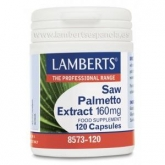 Extracto de Saw Palmetto 160 mg Lamberts 120 cápsulas