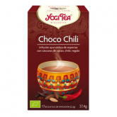 Yogi Tea BIO Chocolate Chili, 17 saquetas