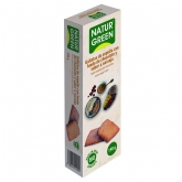 Galleta Eco Espelta fondo de Chocolate y Naranja Naturgreen, 190 g