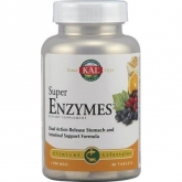 Super Enzymes Acción Prolongada Kal, 60 comprimidos