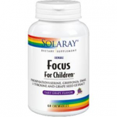 ​Focus for children Solaray, 60 Comprimidos masticables